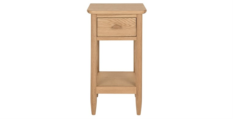 Teramo Compact Bedside Table by Ercol